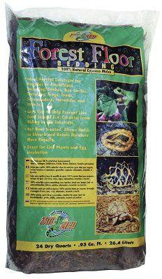 Zoo Med Forest Floor 24 Quarts Tortoise Habitat Substrate
