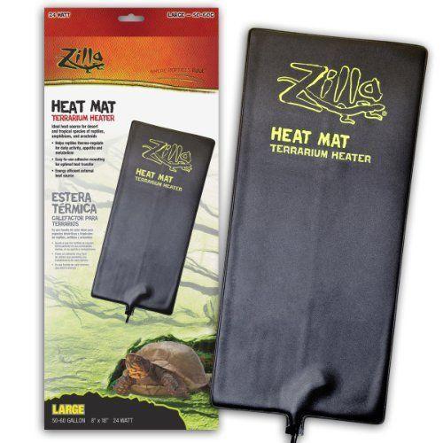 Zilla Reptile Heating Mat Xl Reptile Heat Pad Tortoise