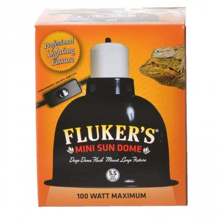 fluker's single dome fixture