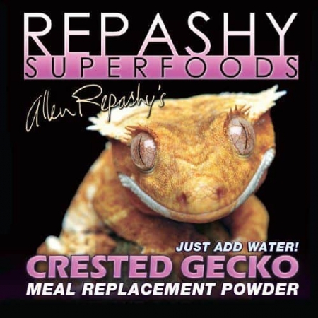 Repashy crested gecko food with insects
