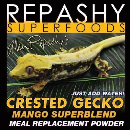 Repashy crested gecko food mango superblend